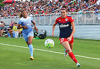 Boyds, MD - Saturday July 09, 2016: Casey Short, Cali Farquharson during a regular season National Women's Soccer League (NWSL) match between the Washington Spirit and the Chicago Red Stars at Maureen Hendricks Field, Maryland SoccerPlex.
