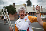Batonbearer Val Melville receiving the Baton as the Queen's Baton Relay visited Bunbury. From 25 January to 2 March 2018, the Queen's Baton will visit every other state and territory before Queensland. As the Queen's Baton Relay travels the length and breadth of Australia, it will not just pass through, but spend quality time in each community it visits, calling into hundreds of local schools and community celebrations in every state and territory. The Gold Coast 2018 Commonwealth Games (GC2018) Queen's Baton Relay is the longest and most accessible in history, travelling through the Commonwealth for 388 days and 230,000 kilometres. After spending 100 days being carried by approximately 3,800 batonbearers in Australia, the Queen's Baton journey will finish at the GC2018 Opening Ceremony on the Gold Coast on 4 April 2018.