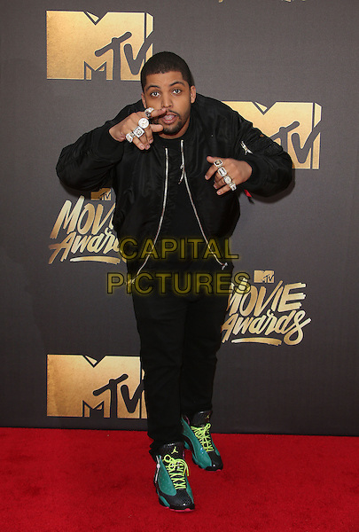 09 April 2016 - Burbank, California - O'Shea Jackson Jr.. 2016 MTV Movie Awards held at Warner Bros. Studios. <br /> CAP/ADM/SAM<br /> &copy;SAM/ADM/Capital Pictures