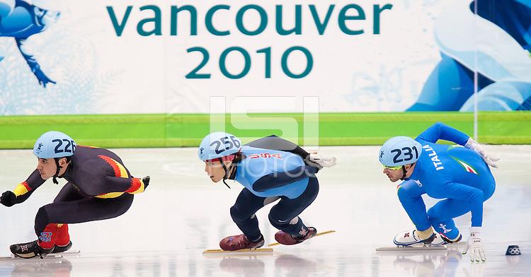 Vancouver, British Columbia, Canada--Short Track, Pacific Coliseum.
