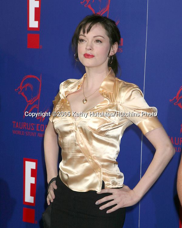 Rose McGowan.World Stunt Awards.Paramount Studios .Los Angeles, CA.September 25, 2005.©2005 Kathy Hutchins / Hutchins Photo