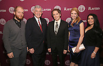 Josh Kight, Arthur Makar, Charles Busch, Shana Farr and Shana Grossman attends the 2016 Helen Hayes Award Dinner honoring Barbara Cook at The Players Club on November 17, 2016 in New York City.