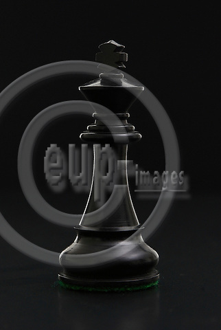 BERLIN - GERMANY 9.  AUGUST 2006 -- Black and White chess pieces -- PHOTO: UFFE Noejgaard/ EUP-IMAGES