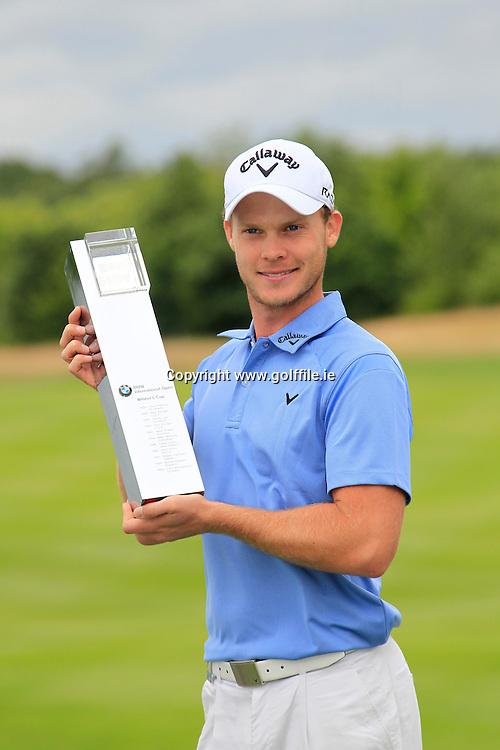 Danny Willett (ENG) winner of the BMW International Open, Golf Club Gut Lärchenhof,Cologne,Germany. 24/6/12.Picture Fran Caffrey www.golffile.ie