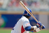 7 March 2009: #2 Hanley Ramirez of the Dominican Republic is seen at bat during the 2009 World Baseball Classic Pool D match at Hiram Bithorn Stadium in San Juan, Puerto Rico. Netherlands pulled off a huge upset in their World Baseball Classic opener with a 3-2 victory over Dominican Republic.