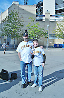 Pirates Home Opener Father & Son