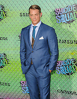 "01 August 2016 - New York, New York - Joel Kinnaman. ""Suicide Squad"" World Premiere. Photo Credit: Mario Santoro/AdMedia"