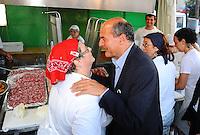 Pierluigi Bersani visita la festa e saluta la gente<br /> Genova 03-09-2013 Festa Nazionale Partito Democratico<br /> Photo  Genova Foto /Insidefoto