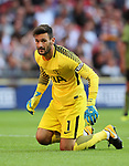 Tottenham's Hugo Lloris looks on during the pre season match at Wembley Stadium, London. Picture date 5th August 2017. Picture credit should read: David Klein/Sportimage