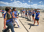 Wildcats honor graduating sophomore Pamela Sakuma at Edmonds Sports Complex Carson City, Nev., on Saturday, May 2, 2015.<br /> Photo by Cathleen Allison