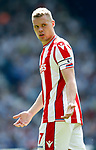 Ryan Shawcross of Stoke City during the premier league match at the Hawthorn's Stadium, West Bromwich. Picture date 27th August 2017. Picture credit should read: Simon Bellis/Sportimage