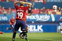 Kike Barja (forward; CA Osasuna) during the Spanish <br /> la League soccer match between CA Osasuna and CF Reus at Sadar stadium, in Pamplona, Spain, on Wednesday, September 12, 2018.
