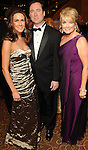 From left: Carrie Carson, Chris McCauley and Women of Distinction Ambassador Jan Carson at the Winter Ball benefiting the Houston Gulf Coast/South Texas Chapter of the Crohn's & Colitis Foudation of America at the InterContinental Hotel Saturday Jan. 23,2010.(Dave Rossman/For the Chronicle)