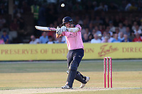 Stevie Eskinazi hits 6 runs for Middlesex during Essex Eagles vs Middlesex, Vitality Blast T20 Cricket at The Cloudfm County Ground on 6th July 2018