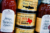 NEW YORK, NY - JUNE 25: Stonewall kitchen products are seen at a stand during the Summer Fancy Food Show at the Javits Center in the borough of Manhattan on June 23, 2019 in New York, The Summer Fancy Food Show is the largest and biggest specialty food industry event in the continent (Photo by Eduardo MunozAlvarezVIEWpress/Corbis via Getty Image