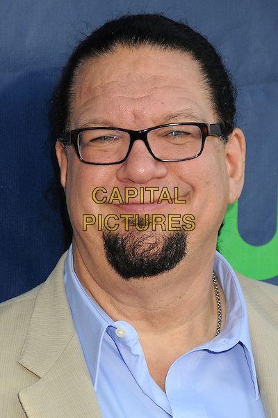 17 July 2014 - West Hollywood, California - Penn Jillette. CBS, CW, Showtime Summer Press Tour 2014 held at The Pacific Design Center. <br /> CAP/ADM/BP<br /> &copy;Byron Purvis/AdMedia/Capital Pictures