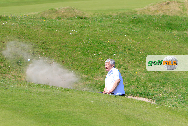 Francis Reynolds (Tramore) on the 12th during Round 2 of the Irish Seniors Amateur Open Championship in the Waterville Golf Club on Thursday 29th May 2014.<br /> Picture:  Thos Caffrey / www.golffile.ie