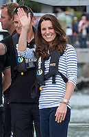 Kate, Duchess of Cambridge & Prince William visit Emirates Team New Zealand - New Zealand