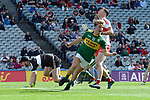 17-1-2017: Kerry's Fiachra Clifford scors a goal in the All-Ireland Football final at Croke Park on Sunday.<br /> Photo: Don MacMonagle