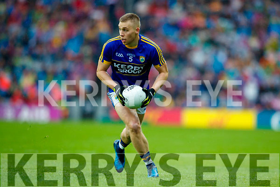 Peter Crowley Kerry in action against  Mayo in the All Ireland Semi Final in Croke Park on Sunday.