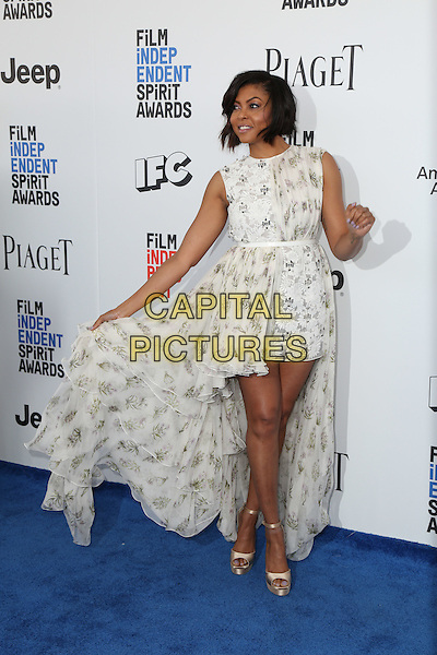 SANTA MONICA, CA - FEBRUARY 25: Taraji P. Henson attends the 2017 Film Independent Spirit Awards at Santa Monica Pier on February 25, 2017 in Santa Monica, California.  <br /> CAP/MPI/PA<br /> &copy;PA/MPI/Capital Pictures