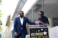 LOS ANGELES - OCT 1:  Tyler Perry, Idris Elba at the Tyler Perry Star Ceremony on the Hollywood Walk of Fame on October 1, 2019 in Los Angeles, CA