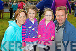 VISITING: Martina, Katie, Lily and Steven McGee from Co Tyrone pictured at the Dingle Races on Sunday..