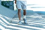 23.06.2020, Trainingsgelaende am wohninvest WESERSTADION,, Bremen, GER, 1.FBL, Werder Bremen Training, im Bild<br /> <br /> <br /> Theodor Gebre Selassie (Werder Bremen #23) <br /> Verletzung / verletzt / Schmerzen Verband am linken Fuss<br /> <br /> Foto © nordphoto / Kokenge