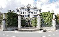 Italy, Italia, Lago di Como, Lario, Bellagio, Tremezzo, Historical villas