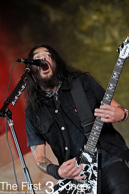 Robb Flynn of Machine Head performs during the 2011 Rockstar Energy Drink Mayhem Festival on July 20, 2011 at Riverbend Music Center in Cincinnati, Ohio.