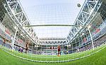Stockholm 2014-07-31 Fotboll Europa League IF Brommapojkarna - Torino FC :  <br /> Torinos Marcelo Larrondo g&ouml;r 2-0 bakom Brommapojkarnas m&aring;lvakt Davor Blazevic <br /> (Foto: Kenta J&ouml;nsson) Nyckelord:  BP Brommapojkarna IFB Tele2 Arena Europa League Torino FC TFC Italien Itay jubel gl&auml;dje lycka glad happy depp besviken besvikelse sorg ledsen deppig nedst&auml;md uppgiven sad disappointment disappointed dejected remote remotekamera