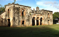 Ruins of the Casa Grande de Palave, or Ingenio de Palave, late 16th century colonial mansion owned by an important sugar refining family, in <br /> Palave, Manoguayabo, Santo Domingo Este, a suburb of Santo Domingo, Dominican Republic, in the Caribbean. The site was used for the processing of sugar cane but has fallen into disrepair. Picture by Manuel Cohen