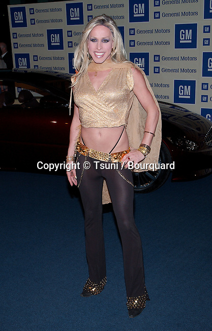 "Alexis Arquette arriving at "" Ten, Pre Oscar Fashion Bash and benefit "" at the GM  in Los Angeles. March 21, 2002."