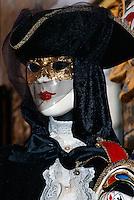 Karnevalsmaske, Venedig, Venetien, Italien