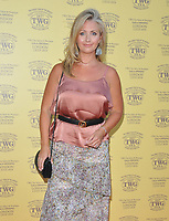 Hayley McQueen at the TWG Tea London gala flagship store launch party, TWG Tea Salon &amp; Boutique, Leicester Square, London, England, UK, on Monday 02 July 2018.<br /> CAP/CAN<br /> &copy;CAN/Capital Pictures