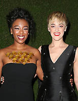 7 January 2018 -  Beverly Hills, California - Samira Wiley, Lauren Morelli. 75th Annual Golden Globe Awards_Roaming held at The Beverly Hilton Hotel. <br /> CAP/ADM/FS<br /> &copy;FS/ADM/Capital Pictures