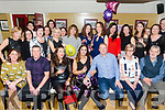 Michelle Constable, Ballyseedie Tralee, celebrates her 40th Birthday with family and friends at the Brogue Inn on Saturday