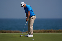 Darius Van Driel (NED) on the 9th during Round 3 of the Oman Open 2020 at the Al Mouj Golf Club, Muscat, Oman . 29/02/2020<br /> Picture: Golffile   Thos Caffrey<br /> <br /> <br /> All photo usage must carry mandatory copyright credit (© Golffile   Thos Caffrey)