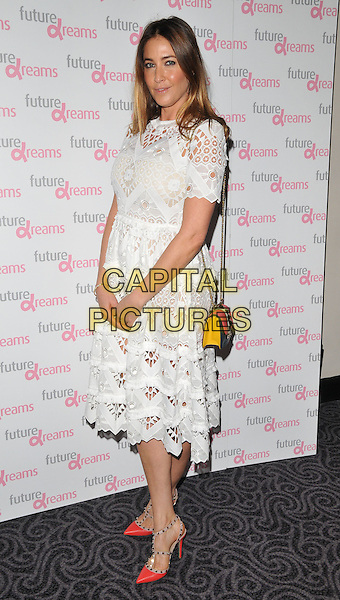 Lisa Snowdon attends the Future Dreams Autumn Lunch, The Savoy Hotel, The Strand, London, England, UK, on Monday 05 October 2015. <br /> CAP/CAN<br /> &copy;CAN/Capital Pictures