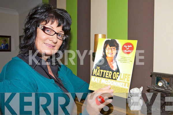 HEALTHY LIVING: Kay McDonnell from Listowel with her new book on healthy living, Matter of Life.