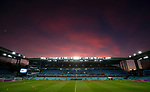 Sunset over Villa Park during the Championship match at Villa Park Stadium, Birmingham. Picture date 23rd December 2017. Picture credit should read: Simon Bellis/Sportimage