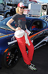 """Jenna Elfman at the practice day for the """"37th Annual Toyota Pro/Celebrity Race"""" in Long  Beach California April 9 2013"""