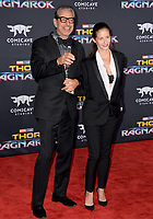Jeff Goldblum at the premiere for &quot;Thor: Ragnarok&quot; at the El Capitan Theatre, Los Angeles, USA 10 October  2017<br /> Picture: Paul Smith/Featureflash/SilverHub 0208 004 5359 sales@silverhubmedia.com
