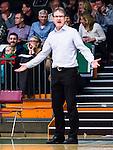 S&ouml;dert&auml;lje 2015-01-17 Basket Basketligan S&ouml;dert&auml;lje Kings - Bor&aring;s Basket :  <br /> Bor&aring;s head coach Patrick Pat Ryan sl&aring;r ut med armarna under matchen mellan S&ouml;dert&auml;lje Kings och Bor&aring;s Basket <br /> (Foto: Kenta J&ouml;nsson) Nyckelord:  Basket Basketligan S&ouml;dert&auml;lje Kings SBBK T&auml;ljehallen Bor&aring;s arg f&ouml;rbannad ilsk ilsken sur tjurig angry portr&auml;tt portrait