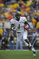 17 September 2011:  Maryland WR/PR Tavon Austin (1) had 122 receiving yards and 121 return yards.  The West Virginia Mountaineers defeated the Maryland Terrapins 37-31 at Capital One Field at Byrd Stadium in College Park, MD..