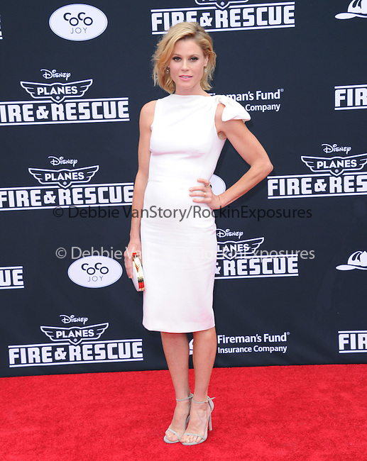 Julie Bowen attends The Disney PLANES: FIRE & RESCUE Premiere held at The El Capitan Theatre in Hollywood, California on July 15,2014                                                                               © 2014 Hollywood Press Agency
