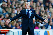 9th September 2017, bet365 Stadium, Stoke-on-Trent, England; EPL Premier League football, Stoke City versus Manchester United; Stoke City Manager Mark Hughes gestures