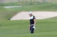 Simon Thornton (IRL) on the 1st during Round 1 of the Challenge de Madrid, a Challenge  Tour event in El Encin Golf Club, Madrid on Wednesday 22nd April 2015.<br /> Picture:  Thos Caffrey / www.golffile.ie