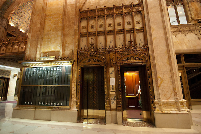 Woolworth Building Lobby, New York City