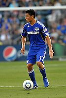 Roger Espinoza...Kansas City Wizards defeated New England Revolution 4-1 at Community America Ballpark, Kansas City, Kansas.